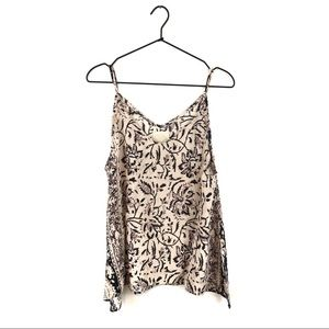 Chaser Silk Tapestry Camisole